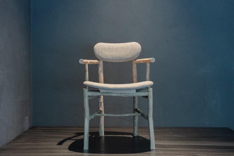 タイムアンドスタイル〈Takenoko chair(タケノコチェア)〉コンセプトモデル