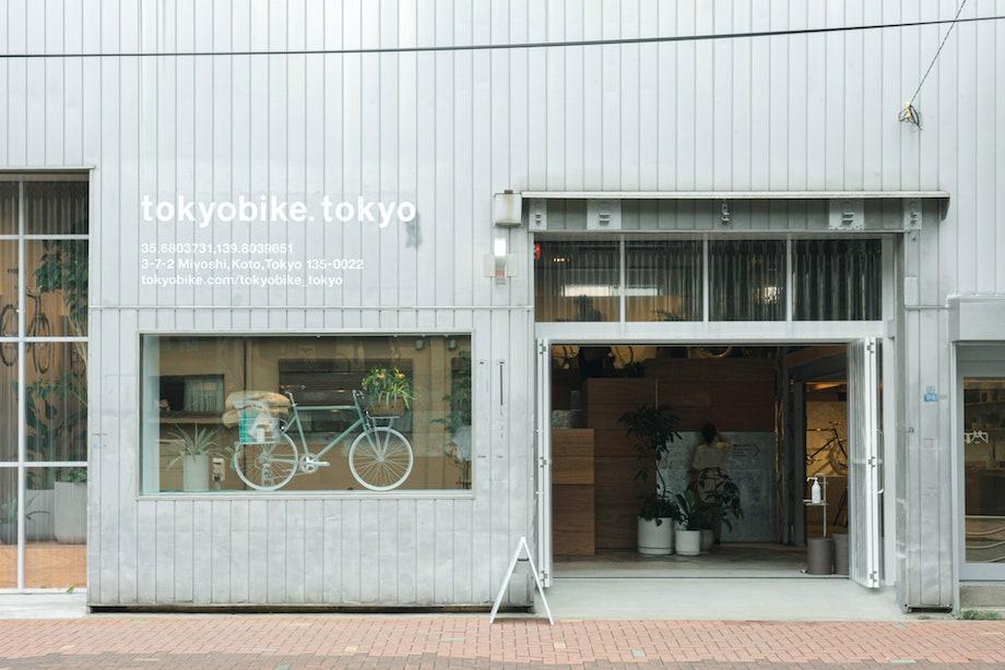 清澄白河〈TOKYOBIKE TOKYO(トーキョーバイクトーキョー)〉旗艦店