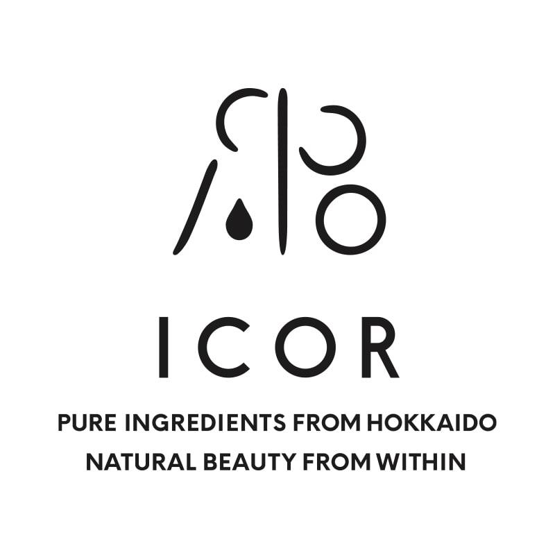 国産ビューティーケアブランド「ICOR(イコ)」ロゴ