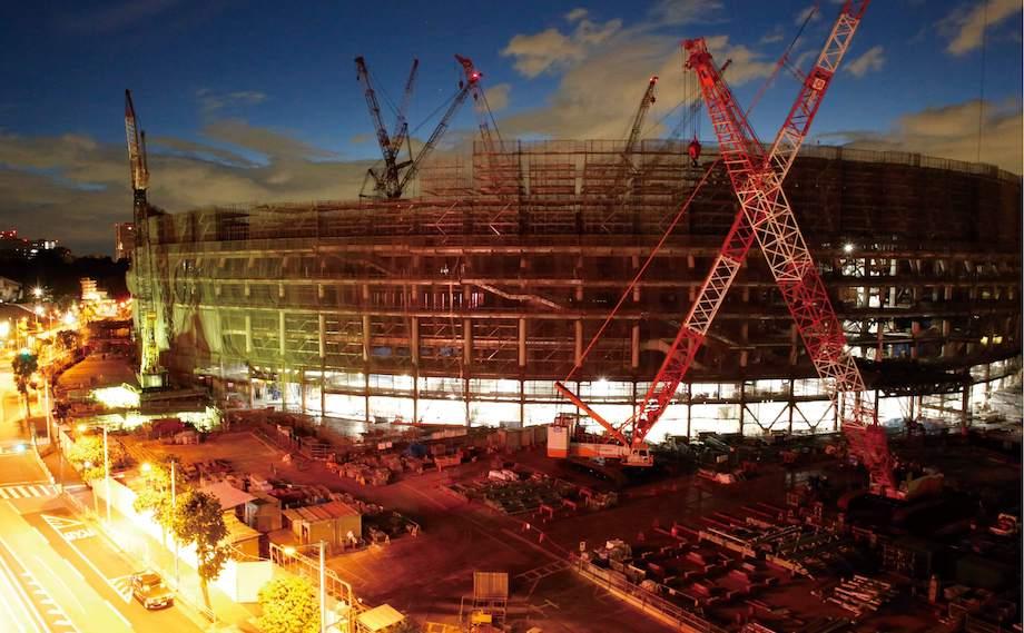 写真集『国立競技場Construction』河出書房新社