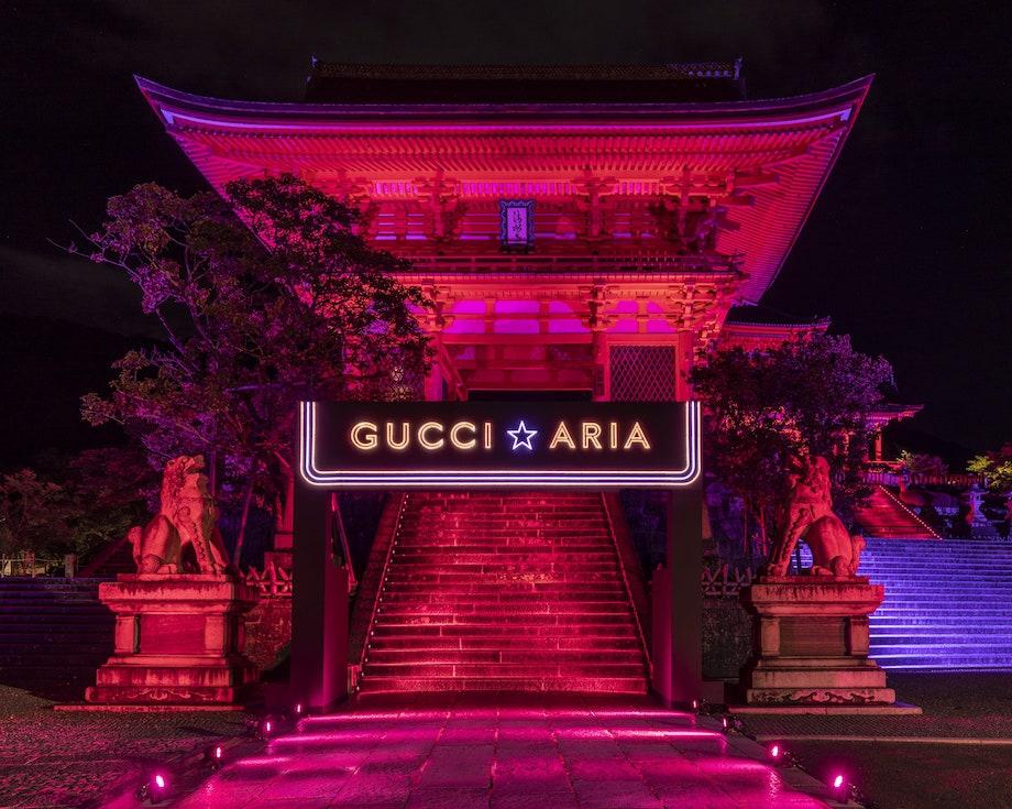 グッチ100th「Gucci in Kyoto」清水寺