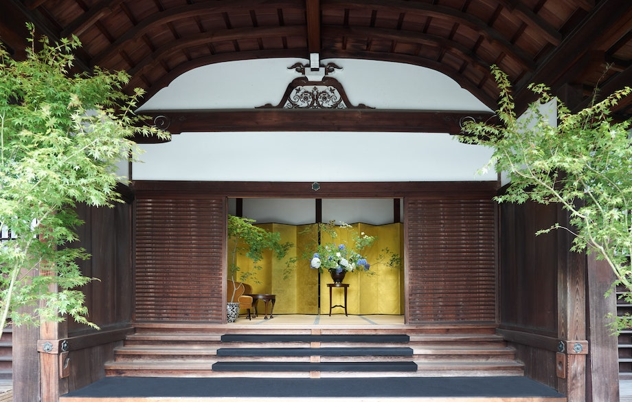 グッチ100th「Gucci in Kyoto」仁和寺御殿