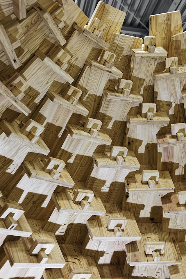 竹中大工道具館「CLT―未来をつくる木のイノベーション」展