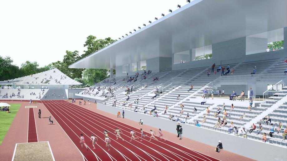 松本平広域公園陸上競技場整備事業