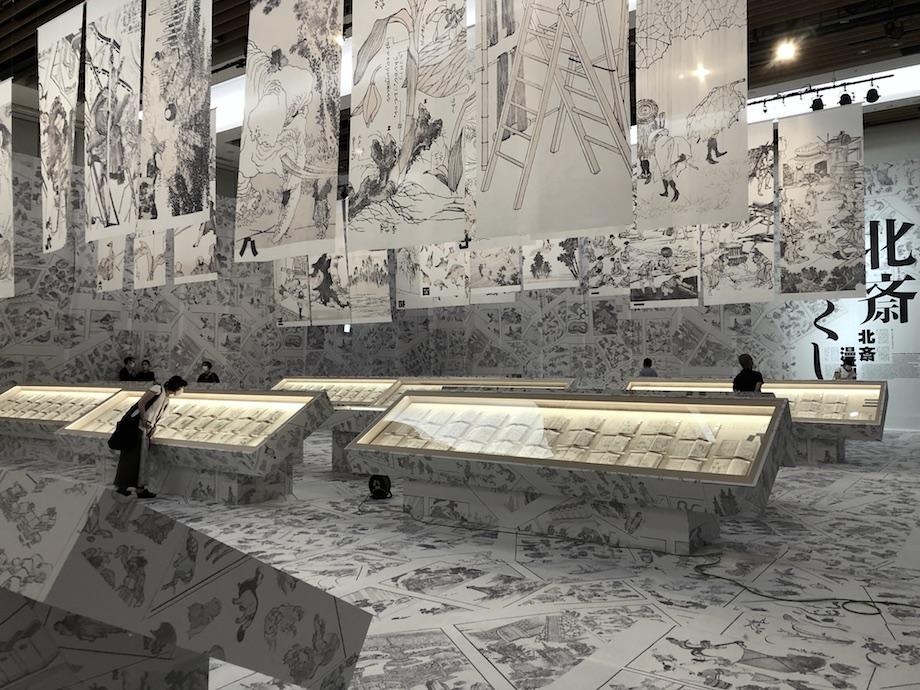 生誕260年記念企画 特別展「北斎づくし」会場風景