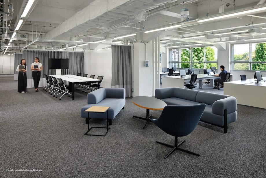 リクルート新オフィスプロジェクト「KUDANZAKA PORT PARK」