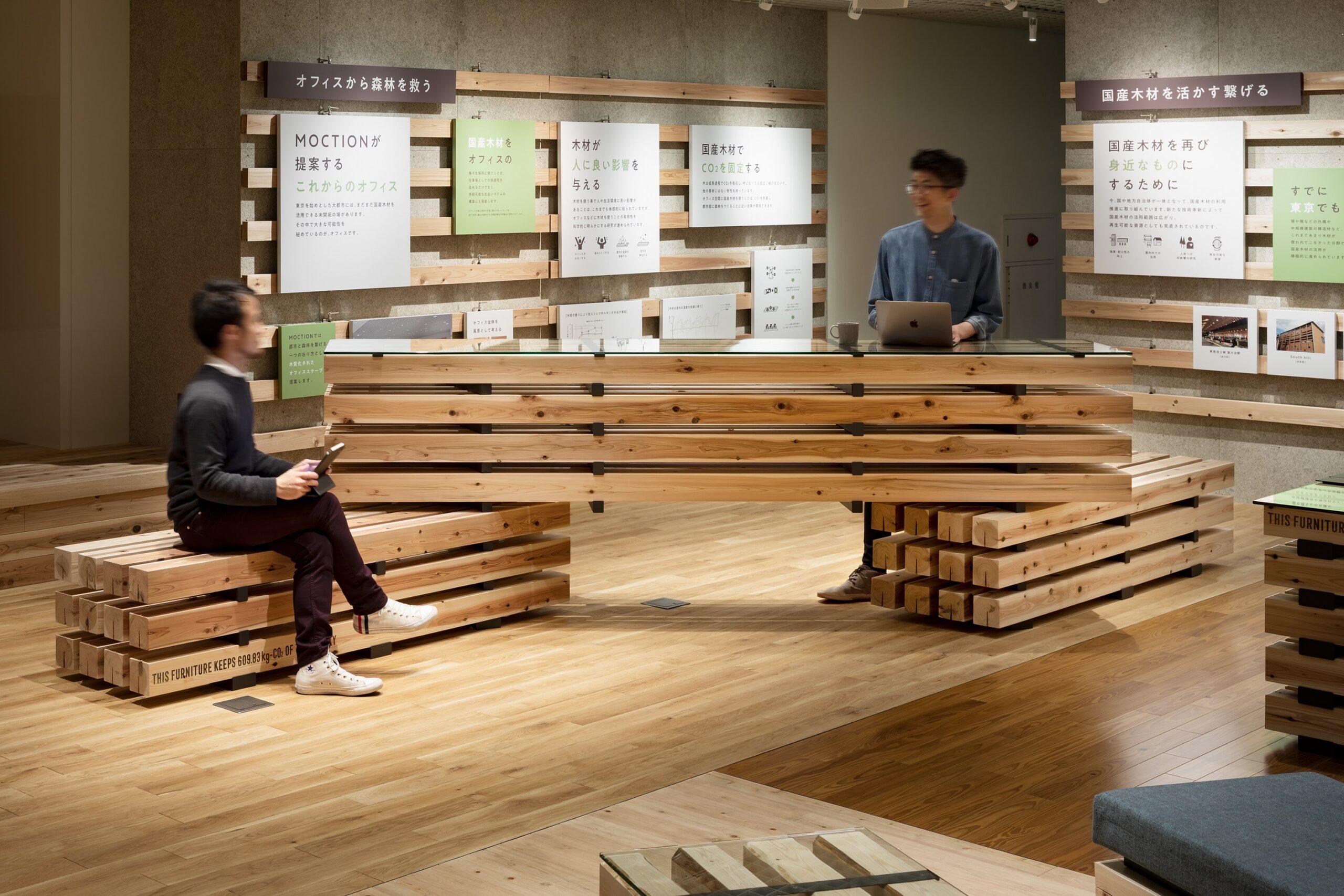 リビングデザインセンターOZONE 5階「MOCTION」