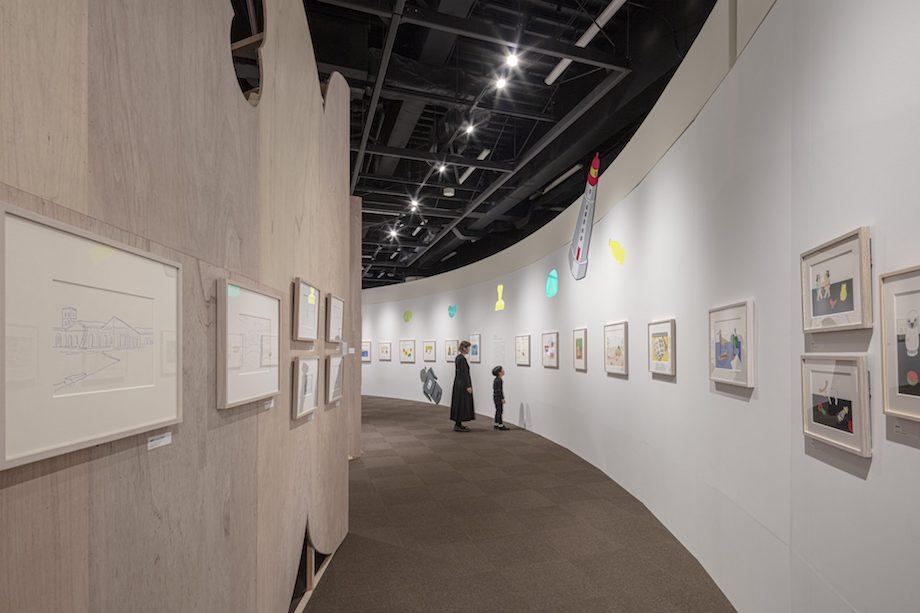 「イラストレーター 安西水丸展」会場風景