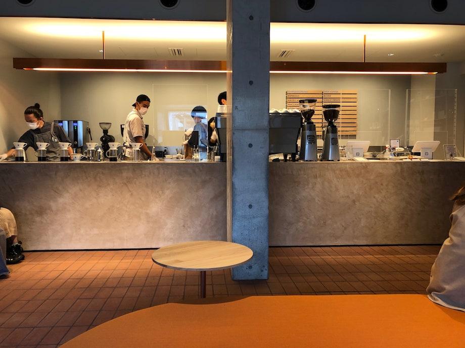 ブルーボトルコーヒー 白井屋カフェ