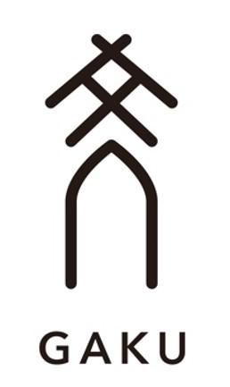 「GAKU(ガク)」ロゴ