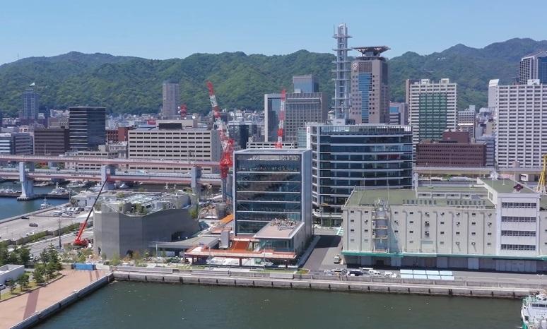 神戸市新港突堤西地区(第1突堤基部)