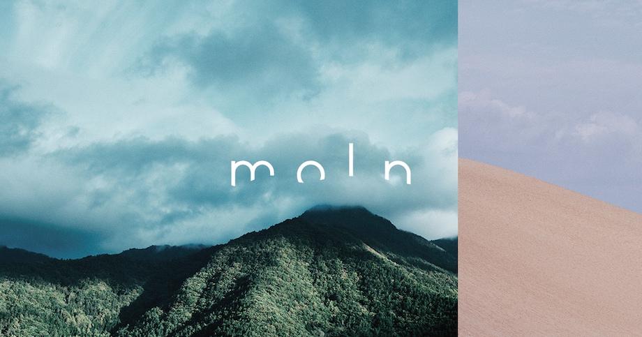 トラベルブランド「moln(モルン)」ロゴ
