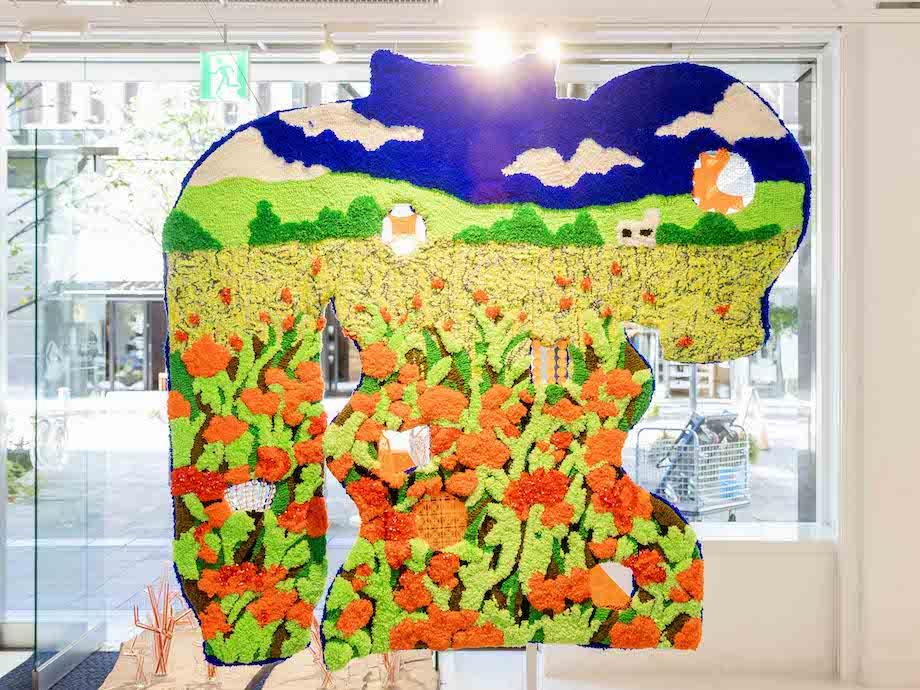 「未来の花見:台湾ハウス」会場風景