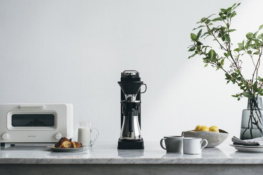 オープンドリップ式コーヒーメーカー〈BALMUDA The Brew(バルミューダ ザ・ブリュー)〉